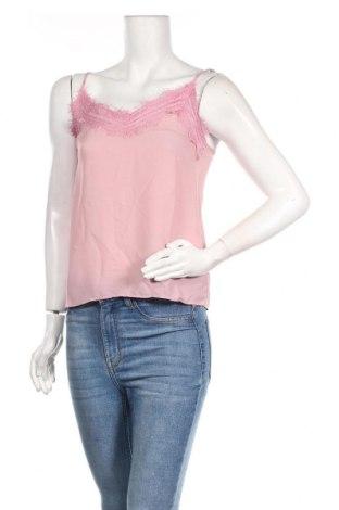 Γυναικείο αμάνικο μπλουζάκι Trendyol, Μέγεθος XS, Χρώμα Ρόζ , Πολυεστέρας, Τιμή 7,05€