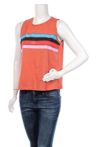Γυναικείο αμάνικο μπλουζάκι Twintip, Μέγεθος XL, Χρώμα Πορτοκαλί, Βαμβάκι, Τιμή 5,32€