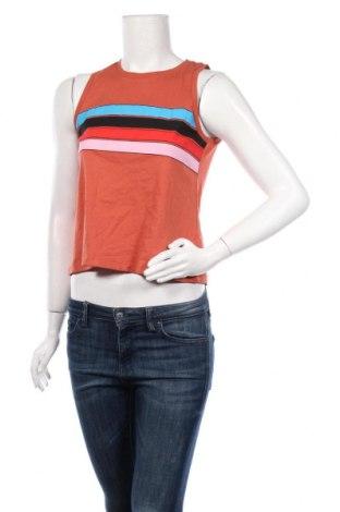 Γυναικείο αμάνικο μπλουζάκι Twintip, Μέγεθος XS, Χρώμα Πορτοκαλί, Βαμβάκι, Τιμή 5,99€