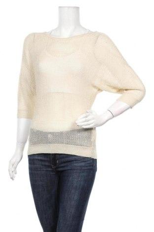 Дамски пуловер Amisu, Размер S, Цвят Бежов, 86% полиакрил, 14% метални нишки, Цена 6,30лв.