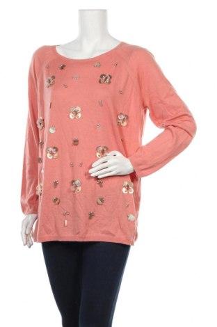 Γυναικείο πουλόβερ Escada Sport, Μέγεθος XL, Χρώμα Ρόζ , 35% πολυαμίδη, 30% βισκόζη, 30% μαλλί, 5% κασμίρι, Τιμή 68,85€