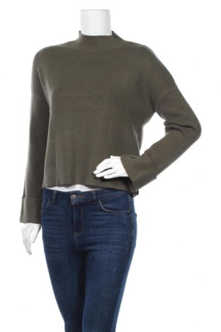 Γυναικείο πουλόβερ Kiomi, Μέγεθος M, Χρώμα Πράσινο, 52% βισκόζη, 28% πολυεστέρας, 20% πολυαμίδη, Τιμή 10,47€