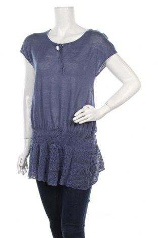 Дамски пуловер Oui, Размер L, Цвят Син, Цена 13,20лв.