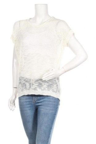 Дамски пуловер Zavanna, Размер L, Цвят Бял, 69% акрил, 31% полиестер, Цена 5,55лв.