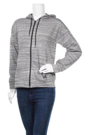 Дамски суичър Adidas, Размер S, Цвят Сив, 85% памук, 15% полиестер, Цена 66,75лв.