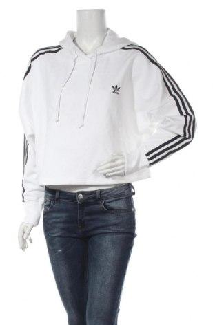 Дамски суичър Adidas Originals, Размер M, Цвят Бял, Памук, Цена 64,35лв.