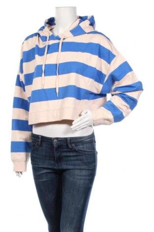 Дамски суичър Flat Top, Размер L, Цвят Бежов, 98% памук, 2% еластан, Цена 7,09лв.