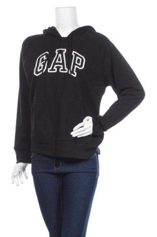 Дамски суичър Gap, Размер L, Цвят Черен, 60% памук, 40% полиестер, Цена 57,00лв.