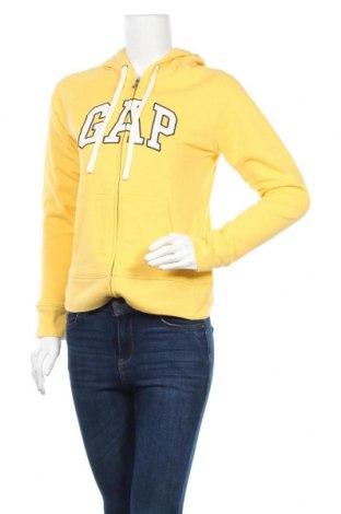 Дамски суичър Gap, Размер XS, Цвят Жълт, 60% памук, 40% полиестер, Цена 54,81лв.