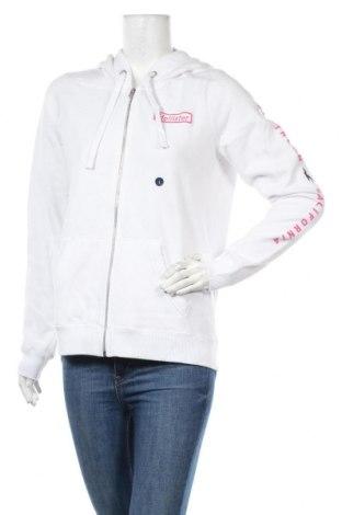Дамски суичър Hollister, Размер L, Цвят Бял, 60% памук, 40% полиестер, Цена 44,25лв.