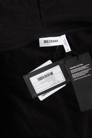 Дамски суичър Weekday, Размер M, Цвят Черен, Памук, Цена 38,35лв.