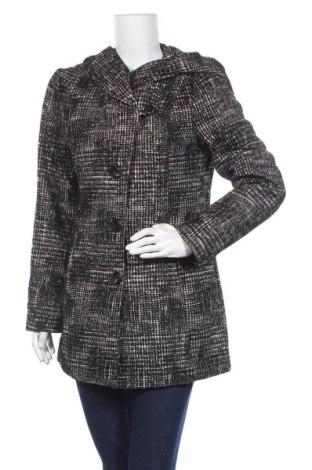 Дамско палто Canda, Размер S, Цвят Черен, 70% полиестер, 9% памук, 6% акрил, 5% вискоза, Цена 15,23лв.