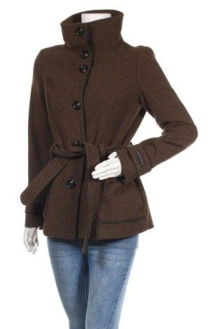 Дамско палто De.corp By Esprit, Размер M, Цвят Кафяв, 40% вълна, 35% акрил, 22% полиестер, 3% други материали, Цена 29,15лв.