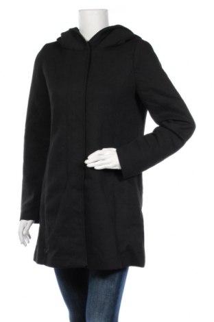 Дамско палто Vero Moda, Размер M, Цвят Черен, 85% полиестер, 15% памук, Цена 60,52лв.
