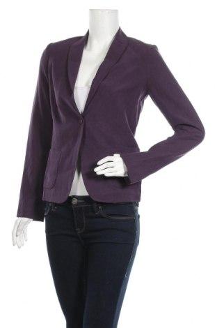 Γυναικείο σακάκι Armand Ventilo, Μέγεθος S, Χρώμα Βιολετί, 55% μετάξι, 45% λινό, Τιμή 62,09€