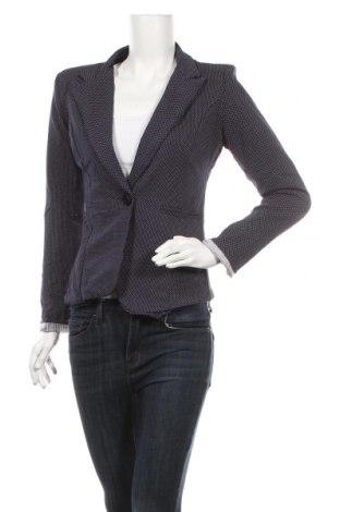 Γυναικείο σακάκι Famous, Μέγεθος M, Χρώμα Μπλέ, 95% βαμβάκι, 5% ελαστάνη, Τιμή 11,19€