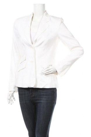 Γυναικείο σακάκι Laurel, Μέγεθος S, Χρώμα Λευκό, 65% λινό, 32% βισκόζη, 3% ελαστάνη, Τιμή 64,63€