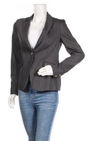 Γυναικείο σακάκι MOS MOSH, Μέγεθος M, Χρώμα Γκρί, 53% βαμβάκι, 44% πολυαμίδη, 3% ελαστάνη, Τιμή 32,66€