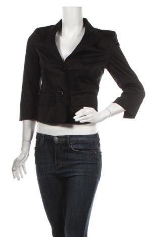 Дамско сако Max&Co., Размер M, Цвят Черен, 96% памук, 4% еластан, Цена 69,00лв.