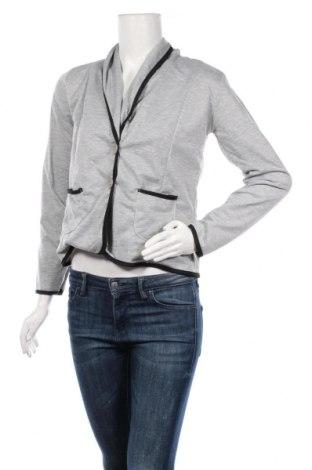 Дамско сако Pretty Winter, Размер L, Цвят Сив, 65% полиестер, 35% памук, Цена 13,50лв.