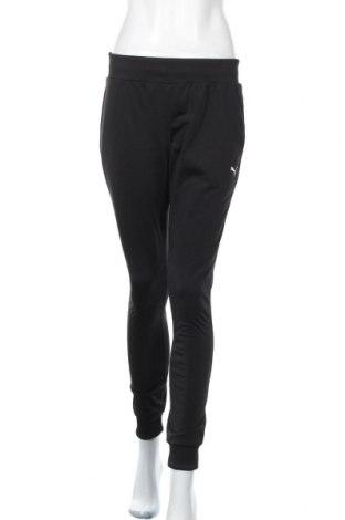 Дамско спортно долнище PUMA, Размер XS, Цвят Черен, Полиестер, Цена 44,50лв.