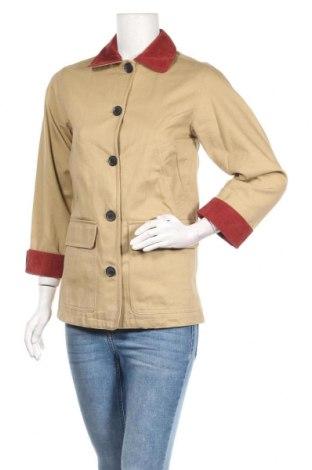Дамско яке Pull&Bear, Размер XS, Цвят Бежов, 65% полиестер, 35% вискоза, Цена 51,75лв.