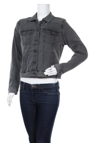 Дамско яке Vero Moda, Размер M, Цвят Сив, 72% памук, 26% полиестер, 2% еластан, Цена 29,48лв.