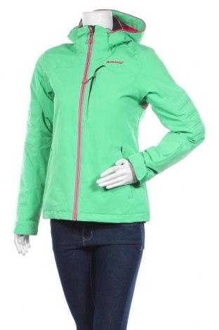 Дамско яке за зимни спортове Ziener, Размер XS, Цвят Зелен, Полиестер, Цена 106,40лв.