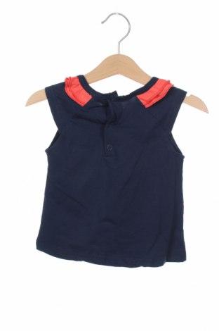 Παιδική μπλούζα Little Marcel, Μέγεθος 3-6m/ 62-68 εκ., Χρώμα Μπλέ, 95% βαμβάκι, 5% ελαστάνη, Τιμή 9,84€