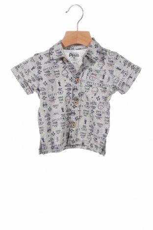 Παιδικό πουκάμισο La Compagnie des Petits, Μέγεθος 3-6m/ 62-68 εκ., Χρώμα Γκρί, Βαμβάκι, Τιμή 4,08€