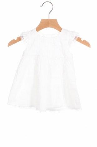 Παιδικό φόρεμα Absorba, Μέγεθος 2-3m/ 56-62 εκ., Χρώμα Λευκό, 100% βαμβάκι, Τιμή 16,70€