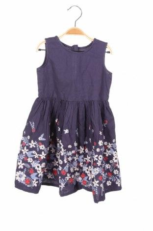 Παιδικό φόρεμα Blue Seven, Μέγεθος 18-24m/ 86-98 εκ., Χρώμα Μπλέ, Βαμβάκι, Τιμή 8,23€