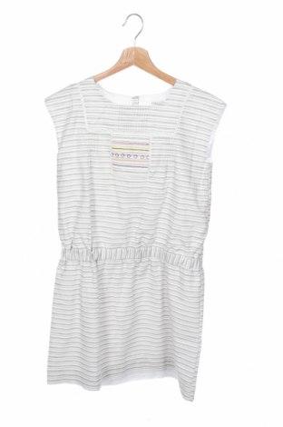 Παιδικό φόρεμα Cyrillus, Μέγεθος 11-12y/ 152-158 εκ., Χρώμα Λευκό, Βαμβάκι, Τιμή 9,60€