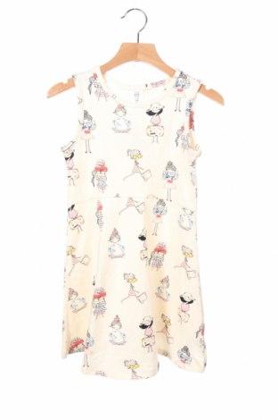 Παιδικό φόρεμα Gap Baby, Μέγεθος 4-5y/ 110-116 εκ., Χρώμα  Μπέζ, 96% βαμβάκι, 4% ελαστάνη, Τιμή 18,10€