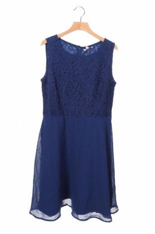 Παιδικό φόρεμα Lemon Beret, Μέγεθος 12-13y/ 158-164 εκ., Χρώμα Μπλέ, Πολυεστέρας, Τιμή 15,31€