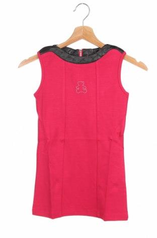 Παιδικό φόρεμα Lulu Castagnette, Μέγεθος 3-4y/ 104-110 εκ., Χρώμα Ρόζ , 95% βισκόζη, 5% ελαστάνη, Τιμή 9,60€