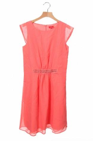 Dětské šaty  S.Oliver, Velikost 11-12y/ 152-158 cm, Barva Růžová, Polyester, Cena  217,00Kč