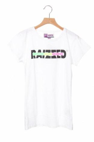 Детска тениска, Размер 13-14y/ 164-168 см, Цвят Бял, Памук, Цена 12,00лв.