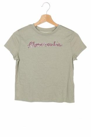 Παιδικό μπλουζάκι Abercrombie Kids, Μέγεθος 9-10y/ 140-146 εκ., Χρώμα Πράσινο, 60% βαμβάκι, 40% πολυεστέρας, Τιμή 18,19€