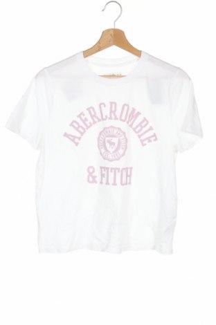 Παιδικό μπλουζάκι Abercrombie Kids, Μέγεθος 13-14y/ 164-168 εκ., Χρώμα Λευκό, 60% βαμβάκι, 40% πολυεστέρας, Τιμή 18,19€