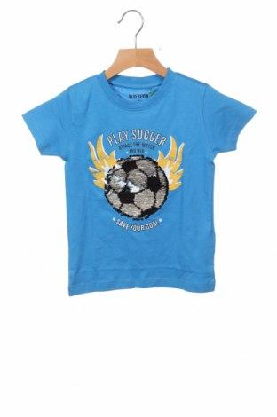 Παιδικό μπλουζάκι Blue Seven, Μέγεθος 18-24m/ 86-98 εκ., Χρώμα Μπλέ, Βαμβάκι, Τιμή 6,20€