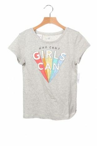 Παιδικό μπλουζάκι Gap Kids, Μέγεθος 8-9y/ 134-140 εκ., Χρώμα Γκρί, Βαμβάκι, Τιμή 13,92€