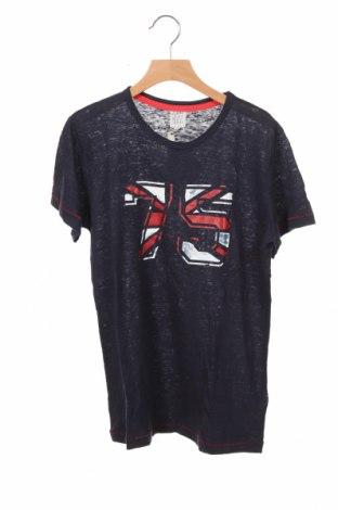 Παιδικό μπλουζάκι Karl Marc John, Μέγεθος 14-15y/ 168-170 εκ., Χρώμα Μπλέ, Λινό, Τιμή 10,10€