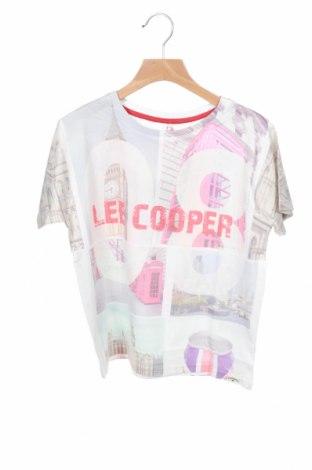 Детска тениска Lee Cooper, Размер 8-9y/ 134-140 см, Цвят Многоцветен, 64% полиестер, 36% памук, Цена 13,76лв.