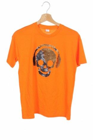 Παιδικό μπλουζάκι Lindex, Μέγεθος 10-11y/ 146-152 εκ., Χρώμα Πορτοκαλί, Βαμβάκι, Τιμή 5,76€