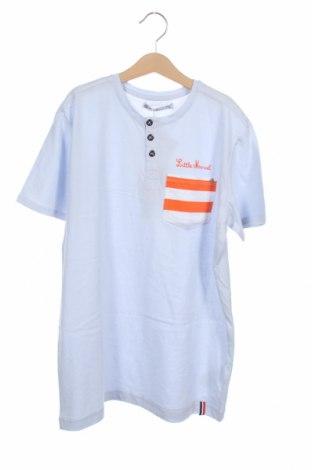 Παιδικό μπλουζάκι Little Marcel, Μέγεθος 13-14y/ 164-168 εκ., Χρώμα Μπλέ, Βαμβάκι, Τιμή 6,20€