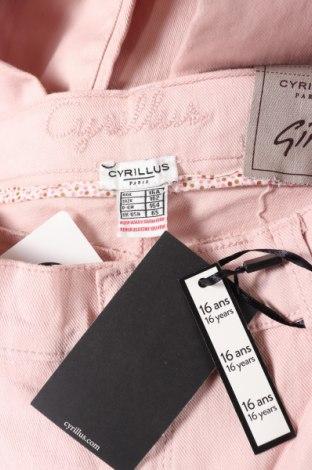 Παιδικά τζίν Cyrillus, Μέγεθος 15-18y/ 170-176 εκ., Χρώμα Ρόζ , 98% βαμβάκι, 2% ελαστάνη, Τιμή 22,81€