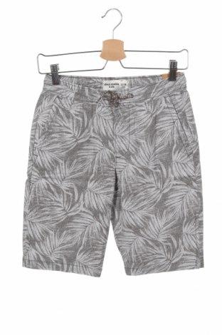Παιδικό κοντό παντελόνι Abercrombie Kids, Μέγεθος 13-14y/ 164-168 εκ., Χρώμα Γκρί, 98% βαμβάκι, 2% ελαστάνη, Τιμή 25,65€