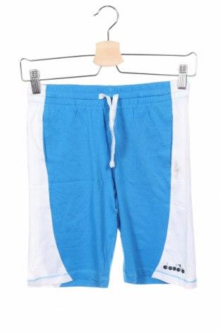 Παιδικό κοντό παντελόνι Diadora, Μέγεθος 9-10y/ 140-146 εκ., Χρώμα Μπλέ, Βαμβάκι, Τιμή 6,06€