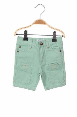 Παιδικό κοντό παντελόνι La Compagnie des Petits, Μέγεθος 3-6m/ 62-68 εκ., Χρώμα Πράσινο, Βαμβάκι, Τιμή 4,08€